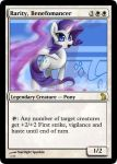 CRISIS EQUESTRIA: Rarity, Benefomancer by rowcla