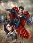 Superman + Lois Lane by daekazu