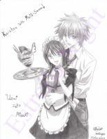 Kaichou Wa Maid-Sama! (Usui and Misaki) by Estrella-Night