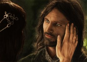 Aragorn Digital Painting by TidalEntertainment