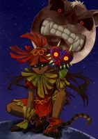 Majora's Monkcoon by gaby14link