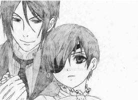 Ciel and Sebbie by DashaChii