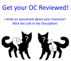 Get your OC Reviewed by ChibiFox12