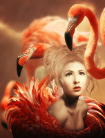 Flamingo by Lhianne