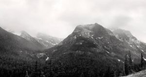 North Cascades NP Panorama by CharlieA-Photos