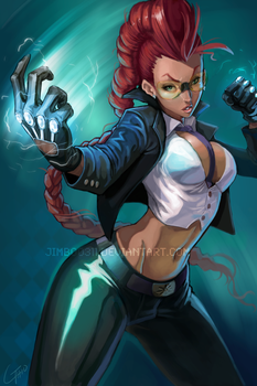 Crimson Viper by JimboBox
