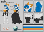 [com] Aria Reference Sheet by MileyMouse