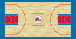 Quebec Nordiques Custom Court by S231995
