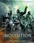Dragon Age Inquisition Poster by rionafury