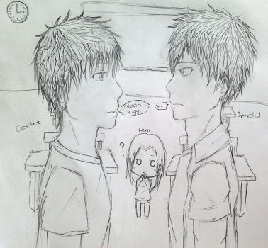 I'm trying to draw an illustration... by Hohoemichan