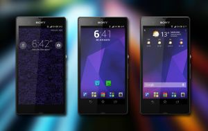 Purple Xperia by Kristof-clg