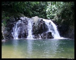 Fiji waterfall 2 by etherealcob