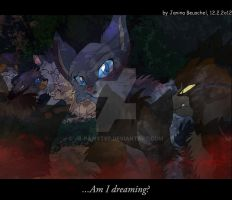The fourth Apprentice -Unexpected Visitors by JB-Pawstep