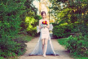 Yuna wedding dress by dandlit