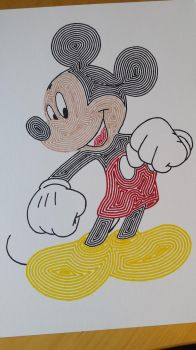 Mickey Mouse by tapgirl301