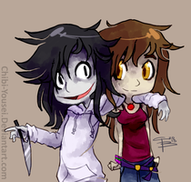 Jeff and Isidora by Chibi-Castform