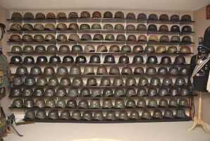 HELMETS WALL by Strnm