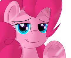 Pinkie sees you by sykobelle