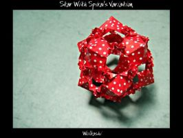 Star With Spirals Variation by wolbashi