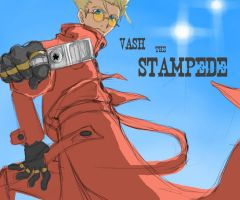Trigun - Vash the Stampede by sparou