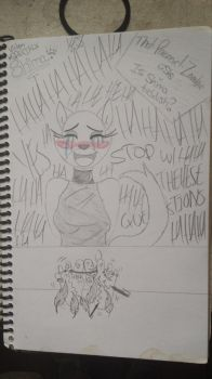 Is Shima Ticklish? by That-Paranoid-Zombie
