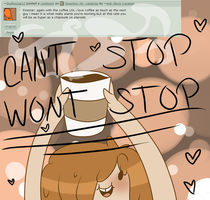 Question 35: Coffeeeeeeeeeeeeeeeeeeeee! by Ask-Alicia-Caramel