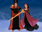 Nasira and Jafar by M-Mannering