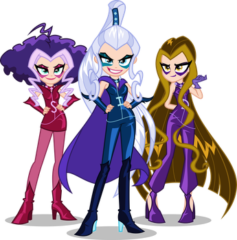 EqG/Winx - The Trix by Orin331