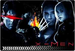 X-Men by c4it1in