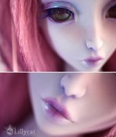 lilas face up by Cerisedolls