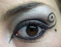 Eye Design - Nightmare by oleanderchardonai
