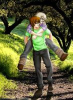 Look at the sun, Seras. PxS by robertavampire