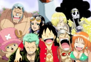 One Piece Crew Remake by OnePieceForever1