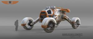 Mars Rover Concept by browniedjhs