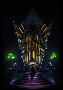 The Organ of Shadows by I-am-knot