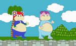 Diana and Berry the Fat Seedrians pic by Bowser14456