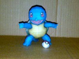 squirtle papercraft by geokyls
