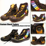 Guy Manuel Chuck Taylors by daftcraft