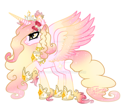 Princess Nether(canone) vector by Space1702