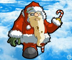 Salty Claus - Colored by grimcinder