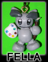 Fella keychain by BlueSmudge