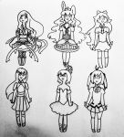 Magical Girl Requests by Lemon-Lark