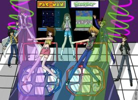 Yugioh DDR by goldendarkness3382