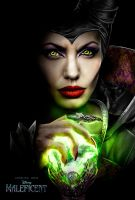 Maleficent Angelina Jolie by c2chris2
