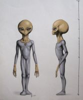 Roswell Alien by BenPhillips