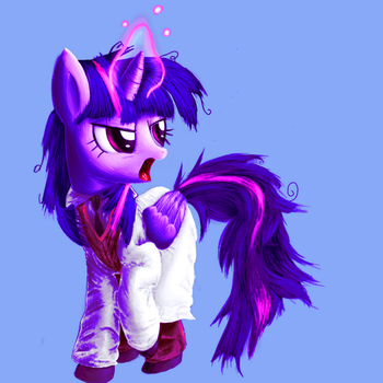 Twilight Sparkle (Research Director) by Vultraz