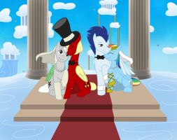Commission_A Cloudsdale Wedding by Evil-Rick