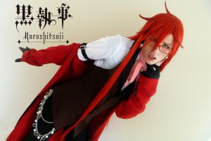 Grell Sutcliff - Shades of Red by Aicosu