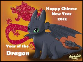 Year of the Dragon by shankar2811