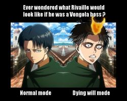 Rivaille as a Vongola Boss by Eroshik